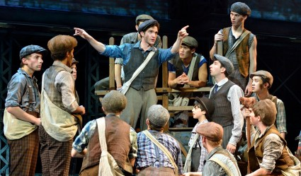 Dan Deluca stars as Jack Kelly in the touring production of Newsies.