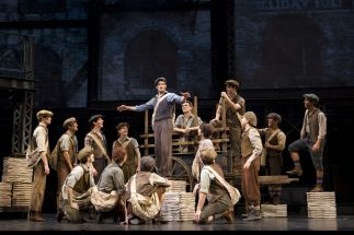 Disney's Newsies, the Musical at Papermill Playhouse #3562