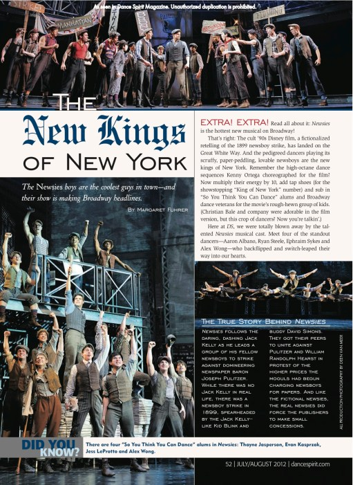Newsies (Margaret Fuhrer)