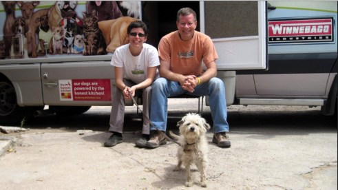 Rod, Amy and Frankie