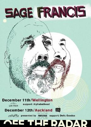 Sage Francis Wellington poster San Fran Wellington