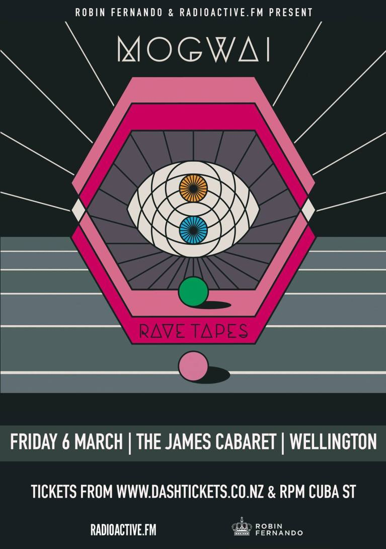 Mogwai James Cabaret Wellington Poster