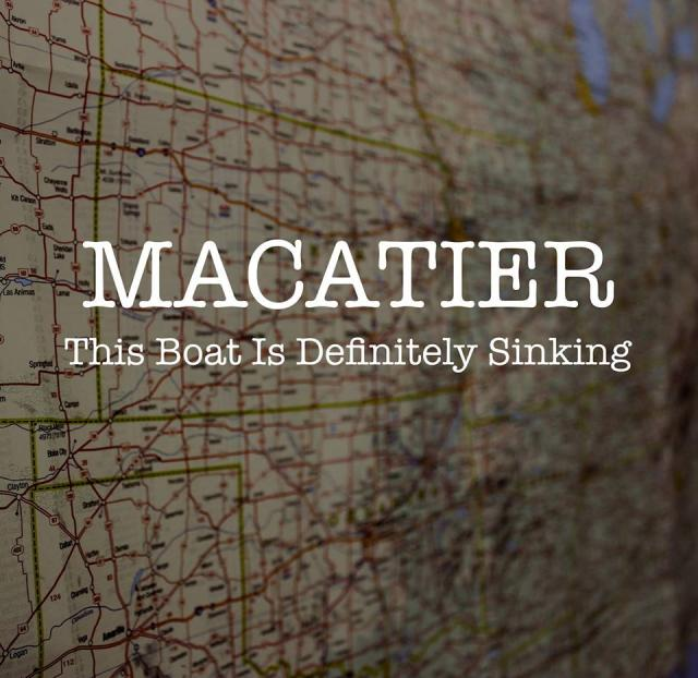 Macatier This Boat Is Definitely Sinking cover