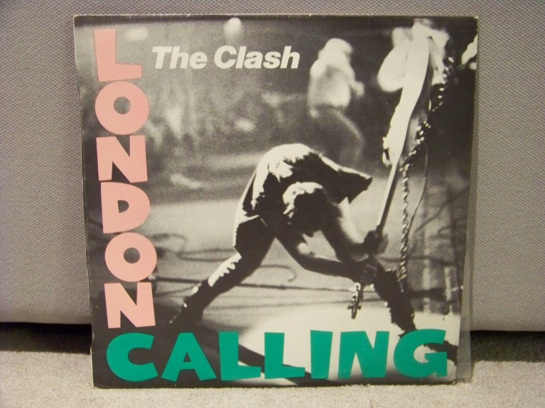 The Clash London Calling Vinyl Album Cover