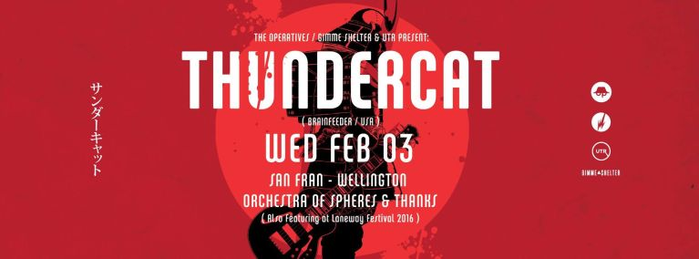 Thundercat San Fran Wellington