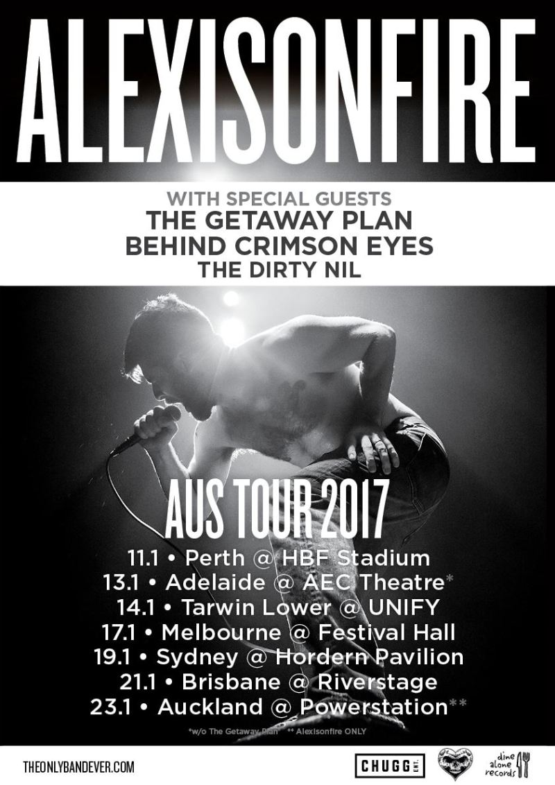Alexisonfire Powerstation Auckland