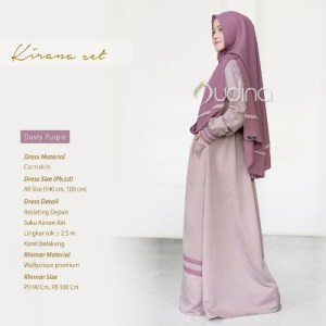 Kirana Set Dusty Purple