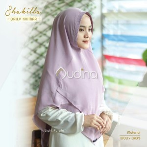 Shakilla Khimar Light Purple