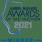 Alberta Business Awards of Distinction 2021 Winner