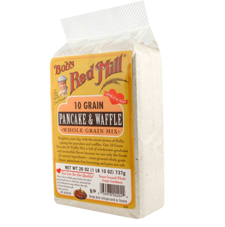 Bob's Red Mill 10 Grain Pancake & Waffle Mix - Package