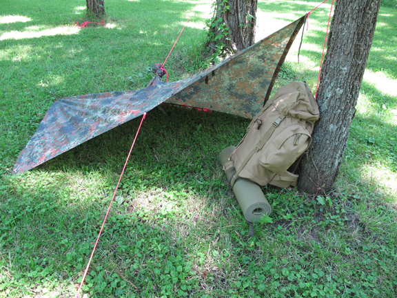 If ... & 9 Different Military Poncho Survival Shelter Configurations u2013