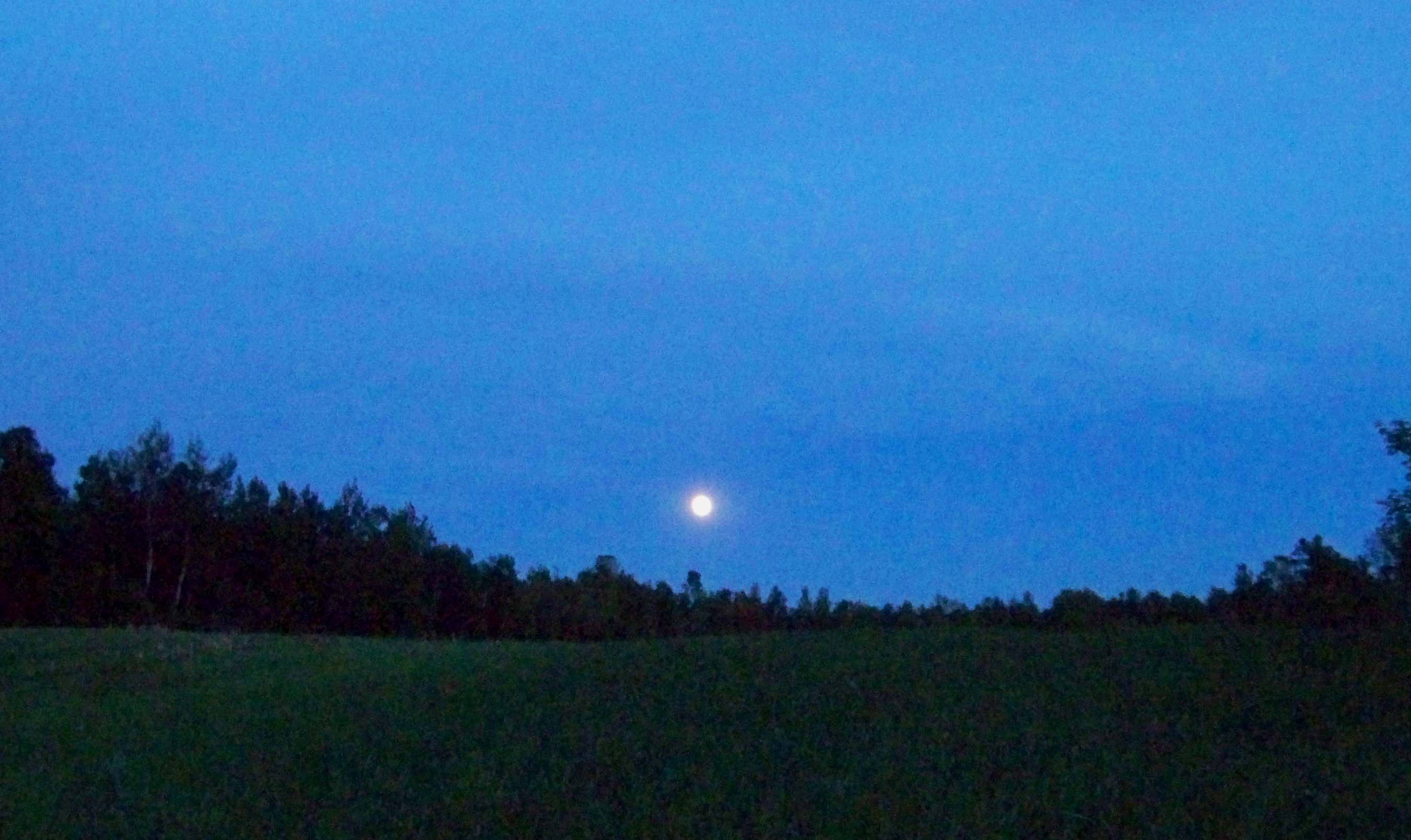 The June full moon is the Strawberry Moon.