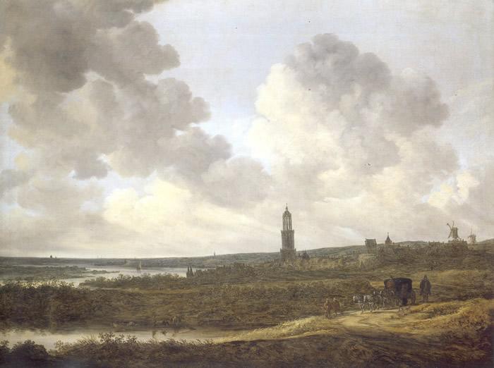 Jan van Goyen: View of Rhenen, 1646