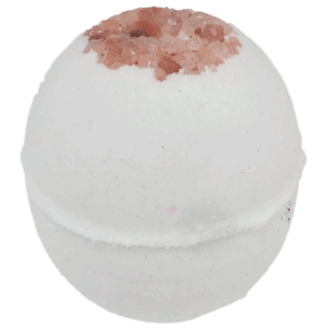 white himalayan spa salt bath bomb