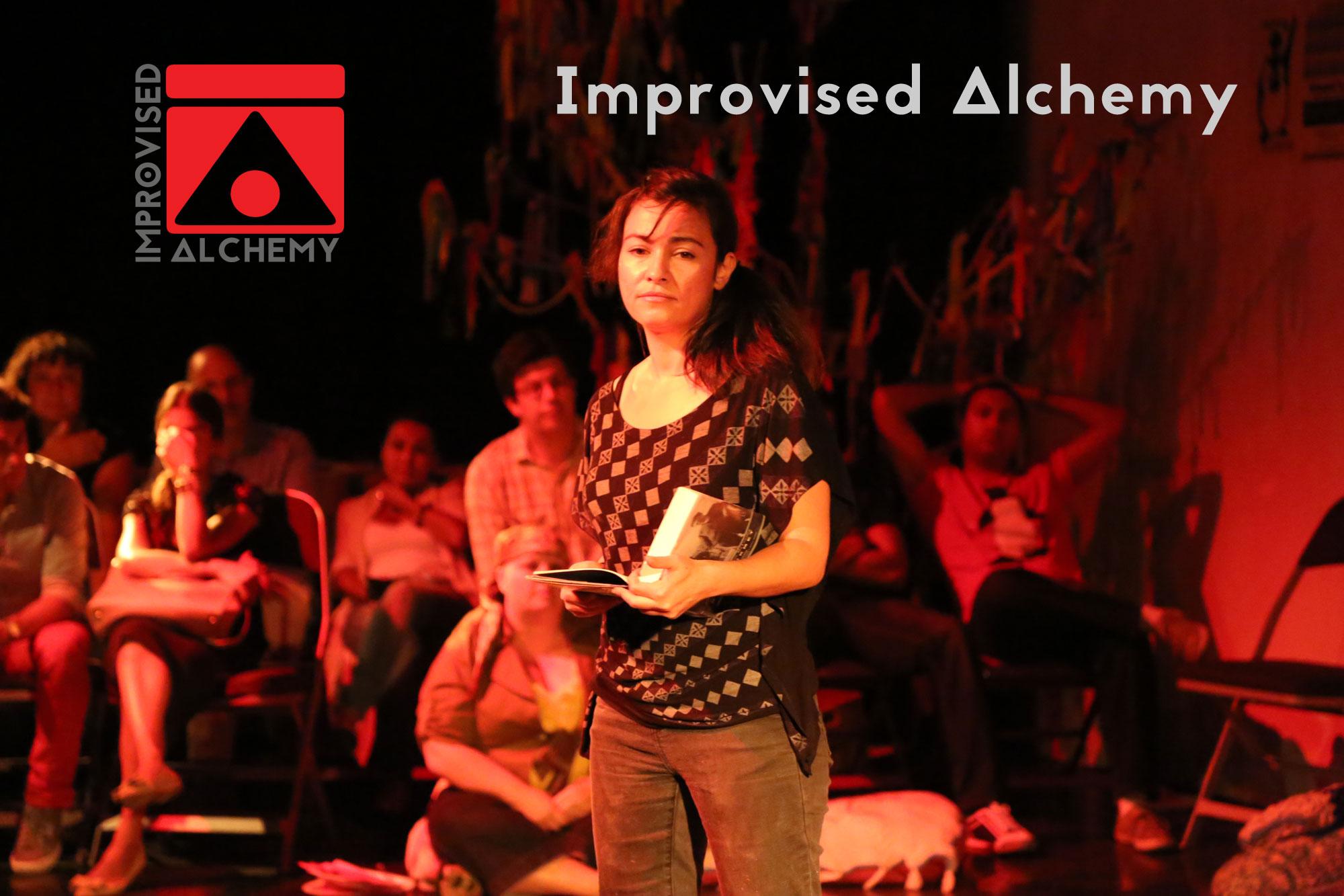 Improvised Alchemy transmedia performance collective