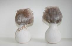 2014. Wax, Stoneware clay, Hessian.