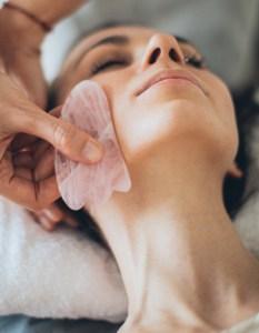jade stone, gua sha tool, facial rejuvenation