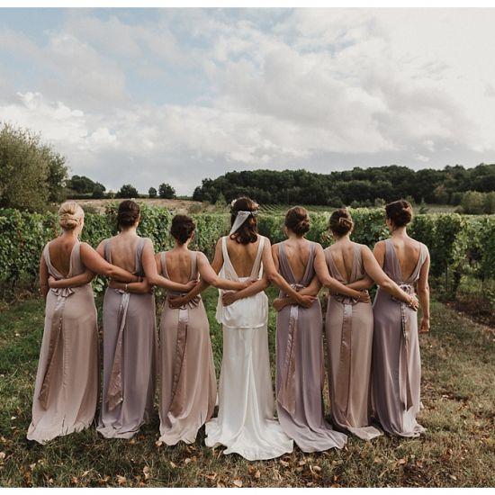 Wedding day group photos