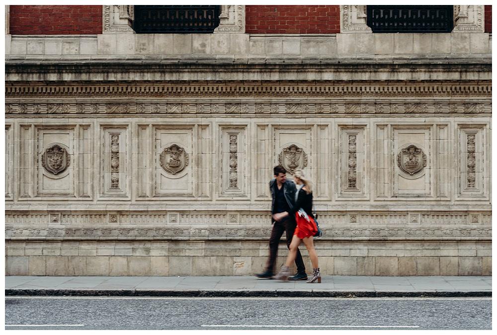 London wedding photographer - Kensington Engagement Shoot.