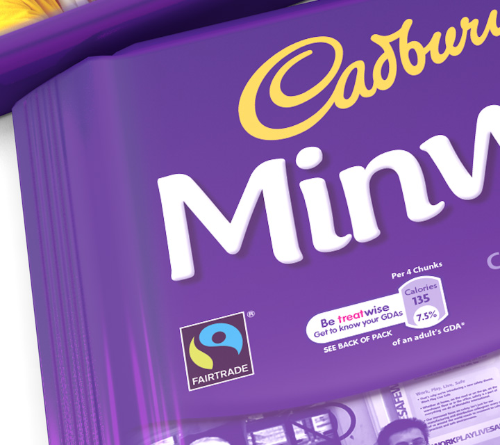 Limited Edition Cadbury Bars (Packaging/Visuals)