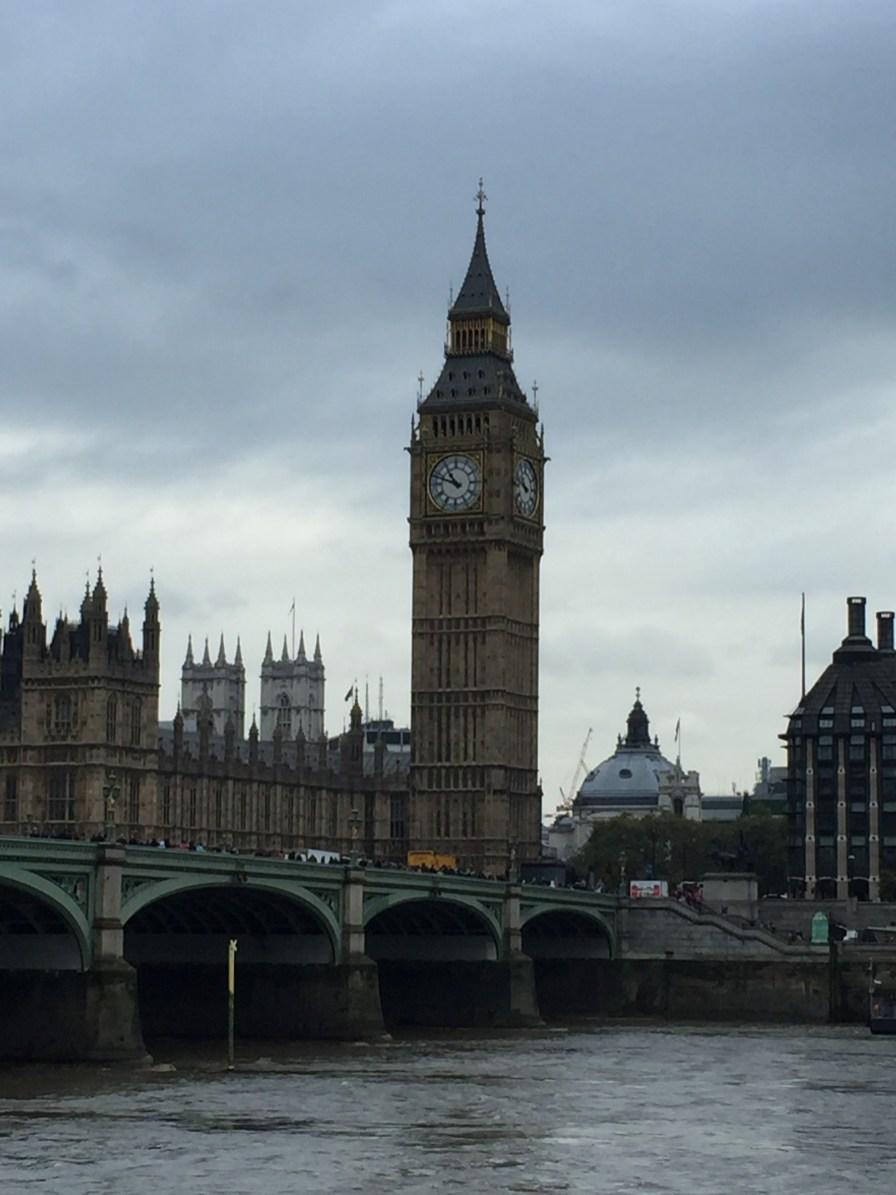 Big Ben - und ja, wir wissen, dass das nur der Name der Glocke im Turm ist...