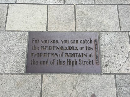 History Walk quer durch die Stadt...