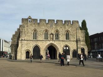 Bargate - mittelalterliches Haupttor zur Stadt