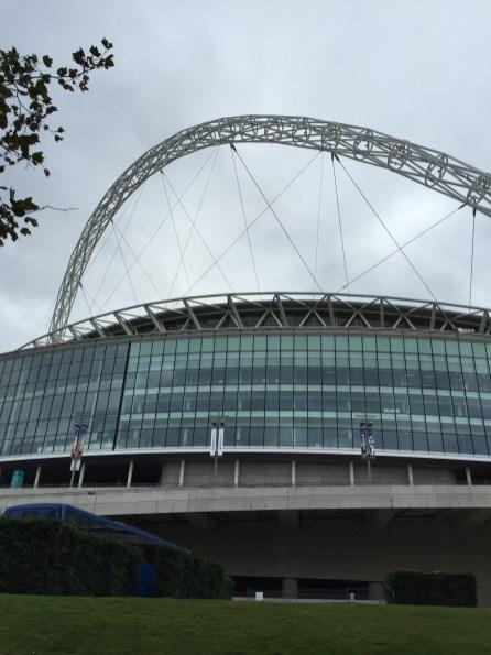 Wembley aus Ameisenperspektive