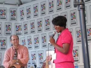 Cheryl Speaking at Baltimore Book Festival