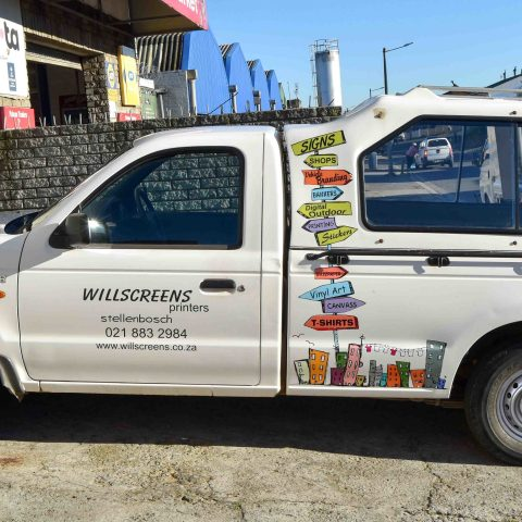 Willscreens Vehicle Branding Stellenbosch