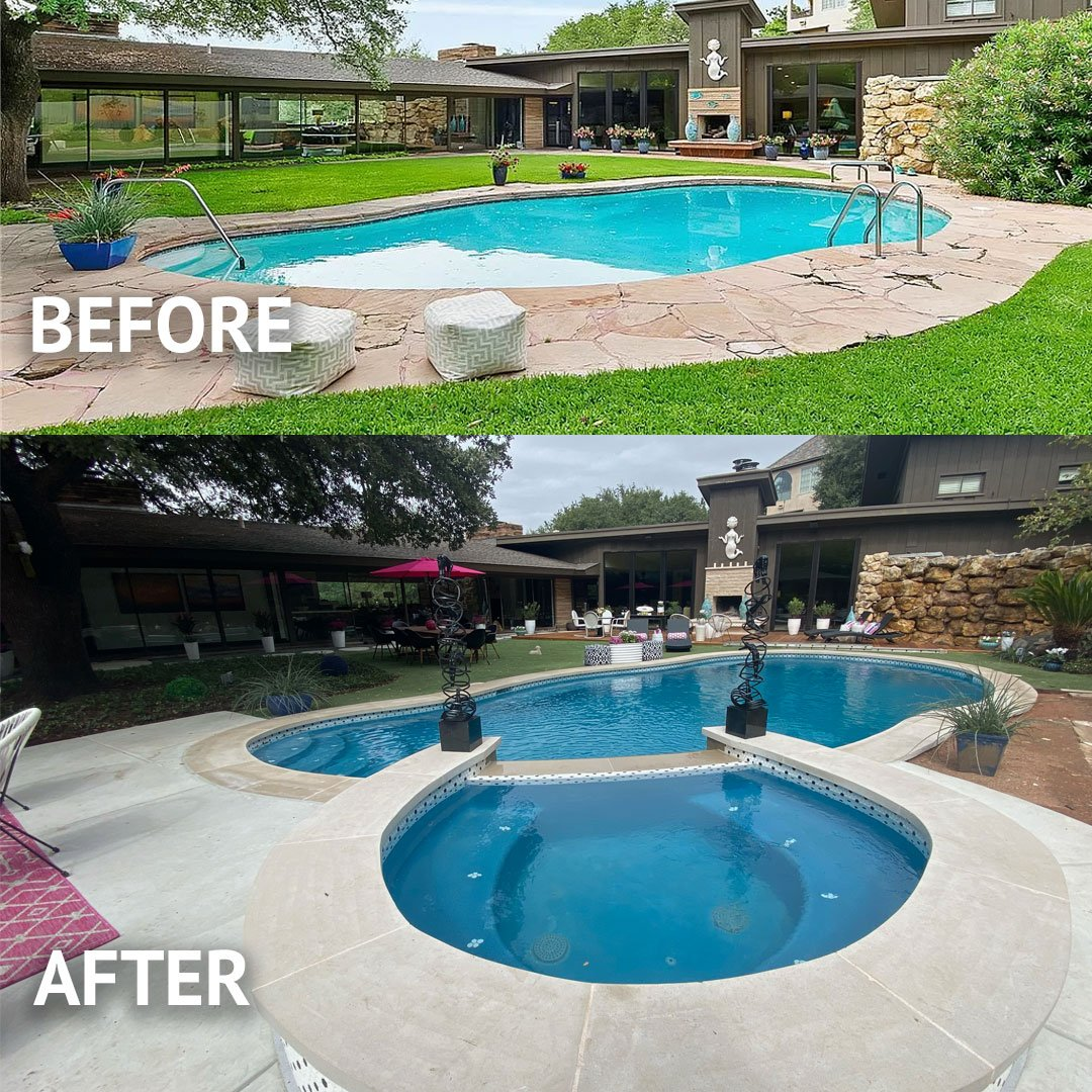 pool remodeling experts in dallas