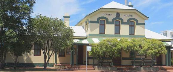 Ballina Courthouse, early Australian courthouses, old Australian courthouses