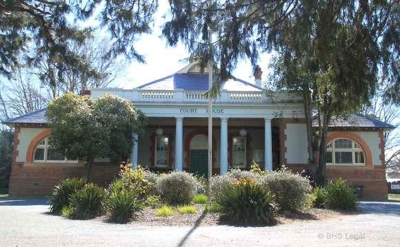 Braidwood Courthouse NSW, early Australian courthouses, old Australian courthouses, Australian legal history, Braidwood