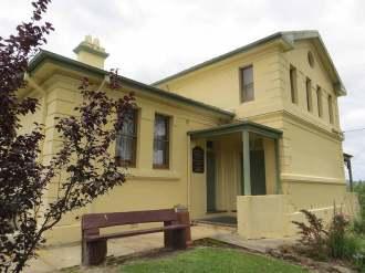 old Buladelah Courthouse, old Australian courthouses, early Australian courthouses