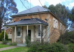 Bungendore Courthouse NSW, old Australian courthouses, early Australian Courthouses, Colonial Australian courthouses, Australian legal history