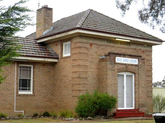 Capertee Courthouse (former), New South Wales