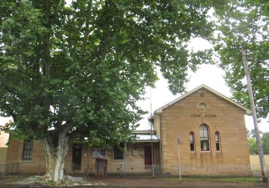 Cassilis Courthouse (former), New South Wales