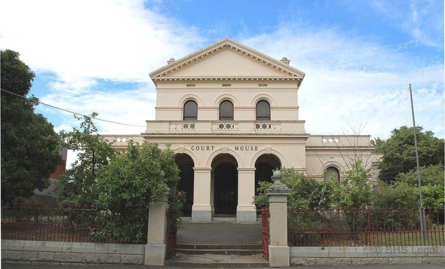 Castlemaine Courthouse, Victoria, early Australian courthouses, colonial Australian courthouses, Australian legal history