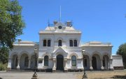 Clunes Police courthouse, Victoria, early Australian courthouses, old Australian courthouses, colonial Australian courthouses, Australian legal history