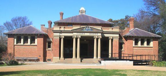 Cootamundra Courthouse, early Australian courthouses, old Australian courthouses