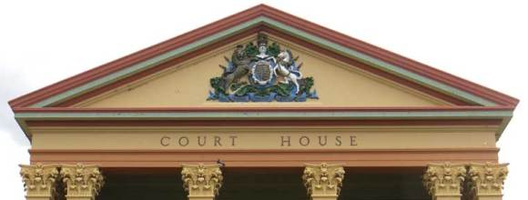 Deniliquin Courthouse New South Wales, legal history, gallery of Australian Courthouses, historic Australian courthouses, colonial Australian courthouses,