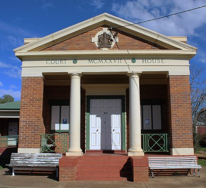 Dunedoo Courthouse, New South Wales