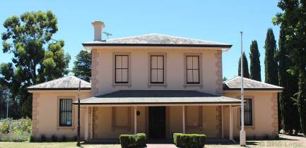 Gisbourne Courthouse 1858, Victoria, Australian legal history, early Australian courthouses, Colonial Australian courthouses