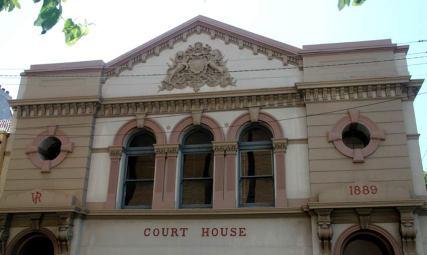 Glebe Courthouse, early Australian courthouses, old Australian courthouses