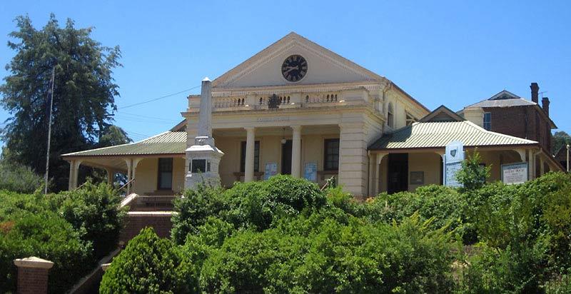 Gundagai Courthouse, early Australian courthouses, old Australian courthouses