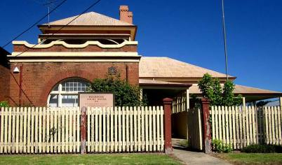 Holbrook Courthouse, old Australian courthouses, early Australian courthouses, Australian legal history, Holbrook