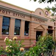 former Latrobe Courthouse, Tasmania, old Australian courthouses, Australian legal history