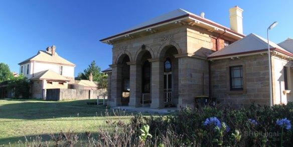 Murrurundi Courthouse, Australian courthouses, old courthouses
