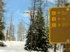 Sign at Col