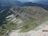 Long look back at Lineham Ridge from the Peak